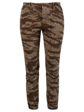Cropped French Military Pant