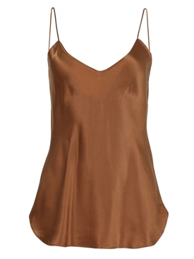 Isabella silk cami top