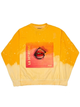 ACID WASH SUNRISE BREAKTHROUGH PULLOVER