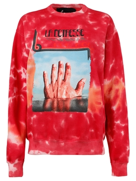 L'Orange amnesia pullover jumper, red