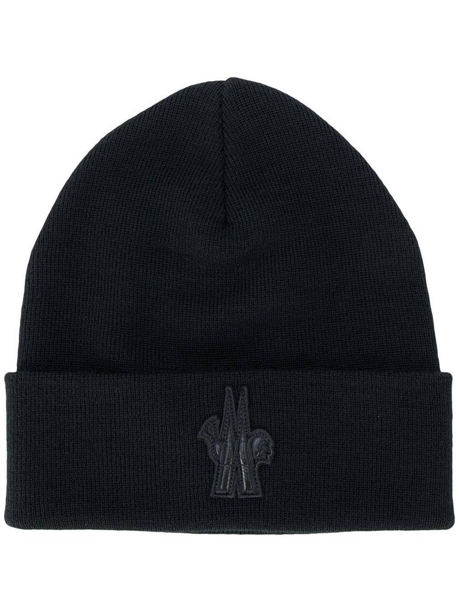 Moncler Grenoble Hats Berretto logo beannie hat