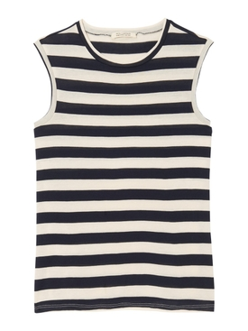Striped Muscle Tee