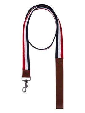 Poldo Dog Couture x Moncler tricolor leash