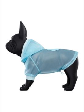 Poldo Dog Couture x Moncler Vinyl Dog Sweater BLUE