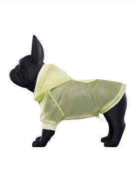Poldo Dog Couture x Moncler Vinyl Dog Sweater YELLOW