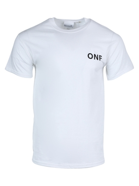 White ONF logo t-shirt