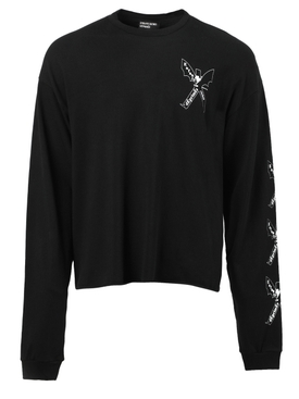 Nouveau logo long sleeve sweatshirt