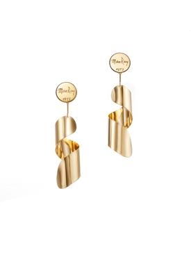 Lampshade Earrings