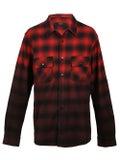 Amiri - Dip Dye Flannel Shirt Red - Men
