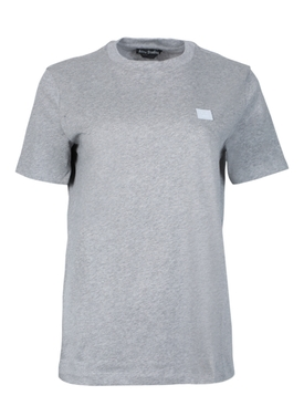 Face T-shirt LIGHT GREY MELANGE