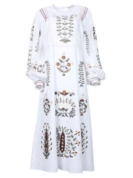 Vita Kin - Patchouli Midi Dress White Multi - Women