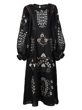 Vita Kin - Patchouli Midi Dress Black Multi - Women