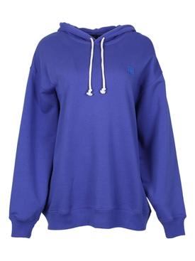 Face Sweatshirt electric blue