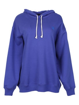 Acne Studios - Farrin Face Sweatshirt Electric Blue - Women