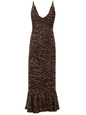 Saloni - Aidan D Dress Tiger - Women
