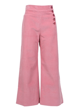 Chloé - High Waist Side Button Trousers - Women