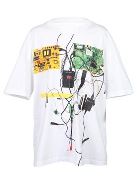 circuit bending t-shirt