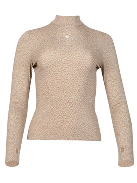 Burberry - Fish Scale Stretch Turtleneck - Women