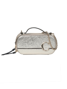 Chloé - Mini C Vanity Bag, Silver - Women