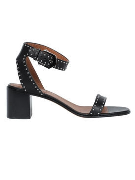 Givenchy - Leather Studded Sandals - Women