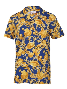 felix X baroque seashell polo