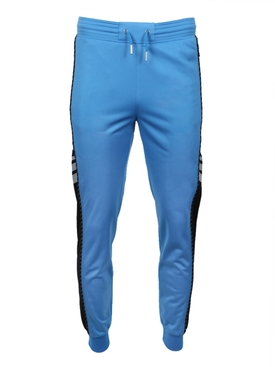 blue & black panel sweatpants