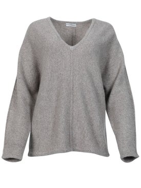 Co - Light Taupe Cashmere Sweater - Women