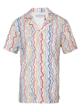 TRAVIS LIGHTNING STRIPE SHIRT