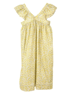The Webster x Lane Crawford Eleana liberty kids dress YELLOW