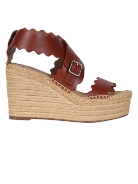 Espadrille Wedges, brown