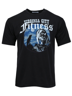 Virginia city logo t-shirt black