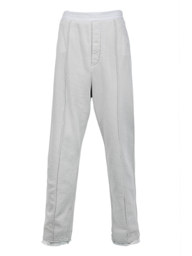 Neutral tailored sweatpants