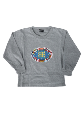 Long Sleeve BB Flag Shirt