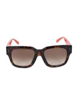 Amber D-frame squared sunglasses