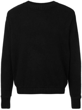 Red pines cashmere sweater BLACK