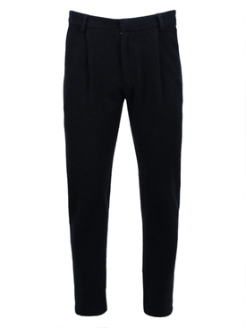 WOVEN PLEAT CALI TROUSERS