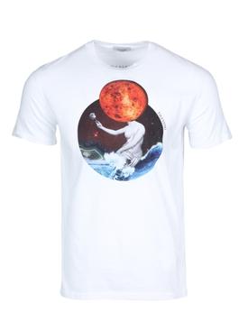 Venus print t-shirt white