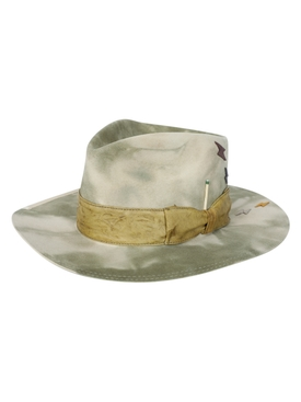 Nick Fouquet - Samos Camo Felt Hat - Men