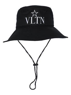 Valentino Garavani - Vltn Bucket Hat With Straps - Men