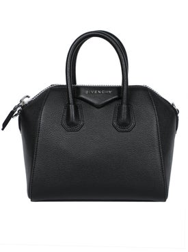 Givenchy - Pebbled Antigona Bag Black - Women