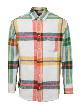The Elder Statesman - Multicolored Tartan Button Down - Men