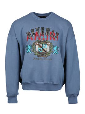 Amiri - Blue Beverly Hills Crewneck - Men