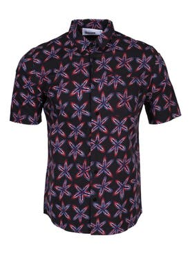 Thorsun - Navy Floral Button Down Shirt - Men