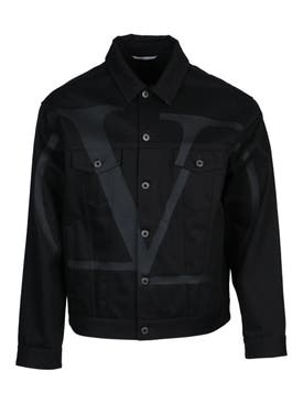 Valentino - Vltn Black Denim Jacket - Men