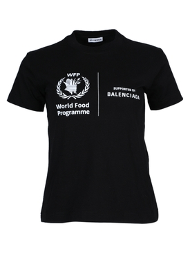 Balenciaga - X World Food Program Logo T-shirt - Women