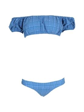 Blue Stripe Leandra Bikini