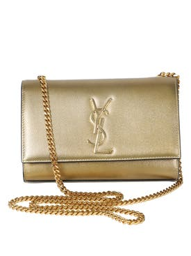 Saint Laurent - Gold-tone Logo Kate Bag - Women
