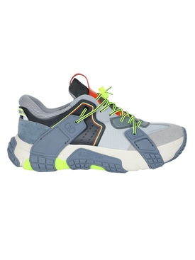 Valentino Garavani - Multicolored Color-block Sneakers Multicolor - Men