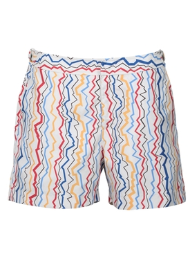 Orlebar Brown - Setter Lightning Stripe Swim Shorts - Men
