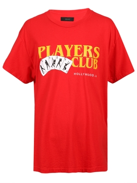 Players Club t-shirt RED